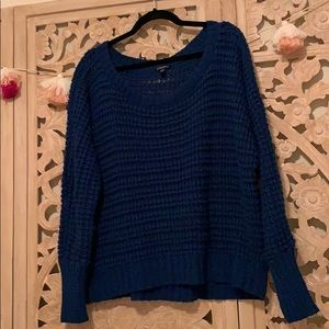 Sweaters - Blue Express sweater